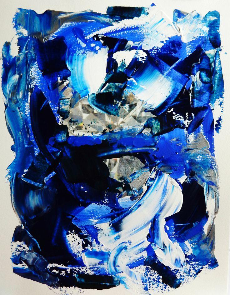 BLUE DIAMOND / Patti Friday
