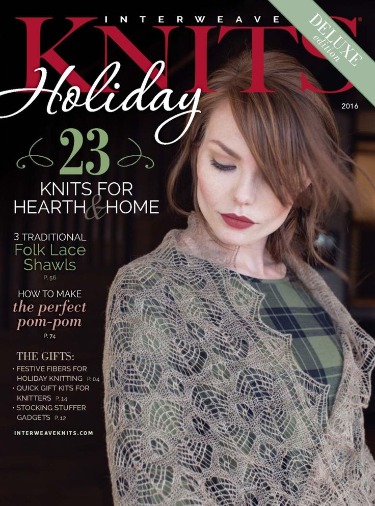 Interweave Knits Holiday Gifts 2016 - 轻描淡写的日志 - 网易博客