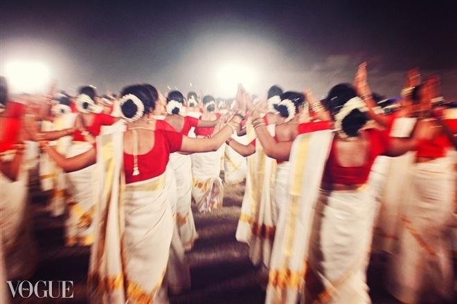 Thiruvathira dance of Kerala