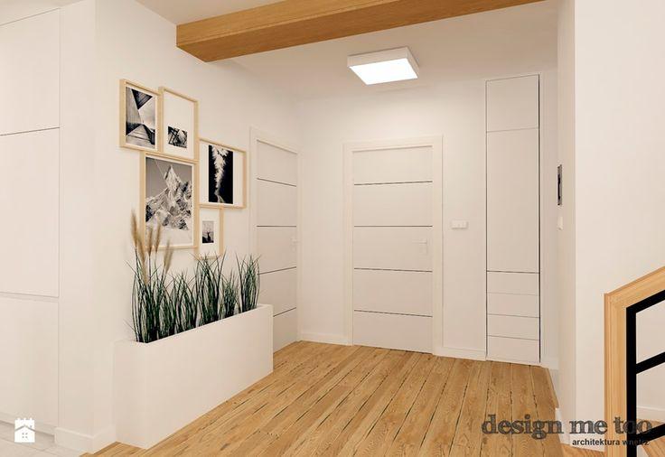 DOM W LESZNOWOLI - Hol / przedpokój, styl nowoczesny - zdjęcie od design me too