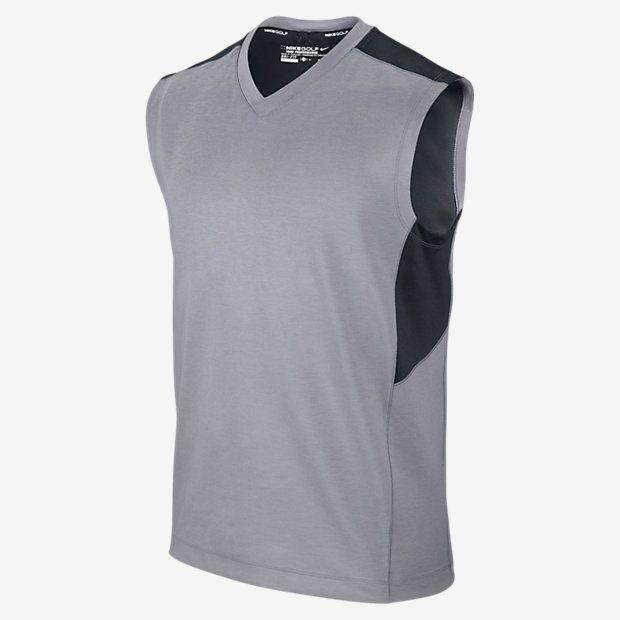 Chaleco Nike Golf Dri-Fit Wool Tech Sweater para caballero con el logotipo de Nike incorporado. Diseñado con los tejidos más cómodos y confortables. Tejido Dri-Fit, que ayuda a mantener seco y cómodo y tejido impermeable. Cuello en pico elástico para un mejor ajuste. Inserciones de malla para una mejor transpirabilidad.  Fabricado con Polyester, lana y Elastano.