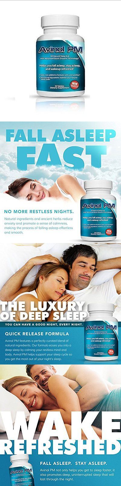 Mouthpieces: Best Natural Sleep Aid: Avinol Pm | Herbal Formula For Better Sleeping | For A -> BUY IT NOW ONLY: $49.84 on eBay!