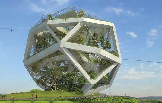 The Naturally Sustaining Dochodo Island Zoo #architecture trendhunter.com