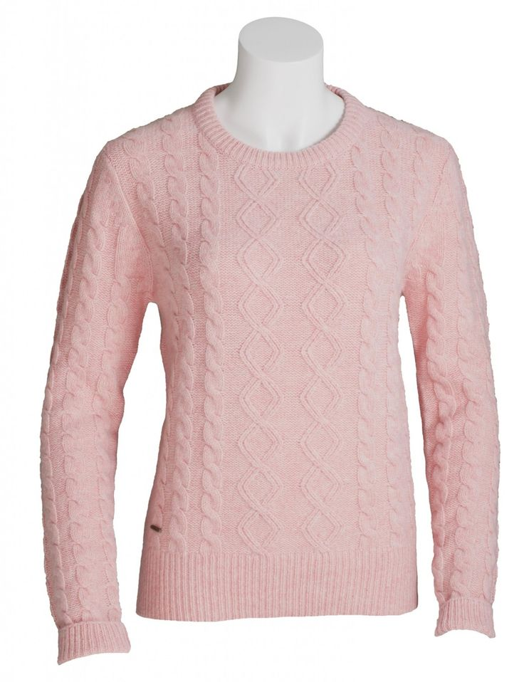 Toggi Honor Ladies Cable Knit Jumper Toggi Honor Ladies Cable Knit Jumper is a statement take on knitwear and the cable design is perfectly in keeping with AW16's texture focus. The jumper's relaxed fit makes it extrememly comfortable to wear on its own or underneath a country jacket. Try teaming with one of our Women's Country Shirtssuch as Toggi Priscilla Ladies Tattersall Shirt i...