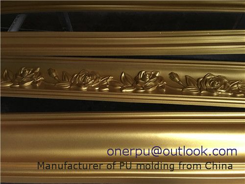 Pu Gold Moulding Cornice Crown Molding Cornice Moulding