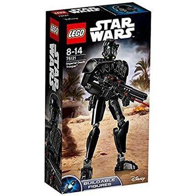 Chollo en Amazon España: Figura LEGO Star Wars Death Trooper por solo 9,99€ (un 63% de descuento sobre el precio de venta recomendado y precio mínimo histórico)