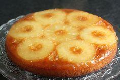 Gâteau renversé à l'ananas (le mien, pas celui de Cuisine et Vins de France) - Chez Requia, Cuisine et confidences ...