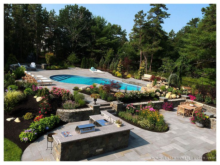 343 best landscape images on pinterest boston backyards for Premier landscape design