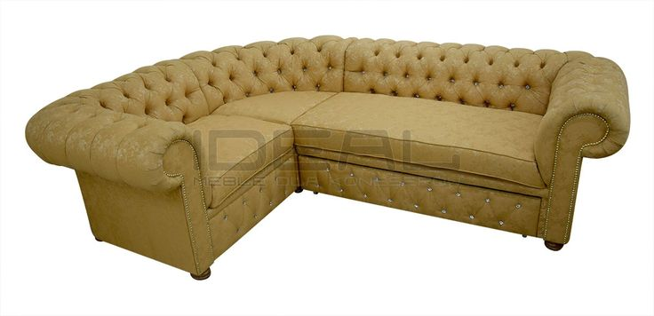 Sofy Narożne - Narożnik Chesterfield March Decoration - Ideal Meble