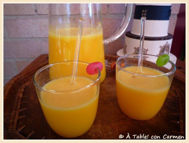 Granizado de Naranja con Soda