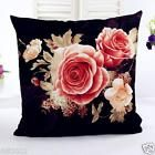 Printing Dyeing Peony Sofa Bed Home Decor Pillow Case Cushion Cover W  Price 1.0 USD 7 Bids. End Time: 2017-03-27 00:10:12 PDT