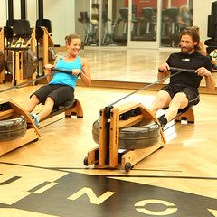Was always curious about how to use the rowing machine. This is a good quick tutorial!