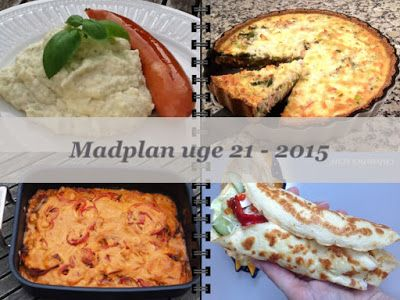 CDJetteDC's LCHF: MADPLAN uge 21 - 2015