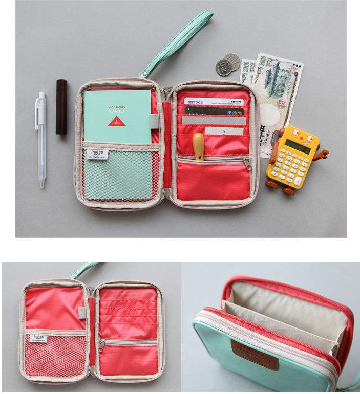Double Pouch (in Mint) from Mochi Things | I need to make my own.