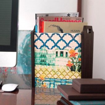 #wishforsanta This rocks my socks. Neo Nawab Palace Scene Miniature Multi Utility Bin