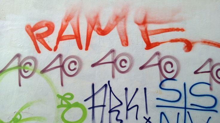 Graffiti in Pescara old town