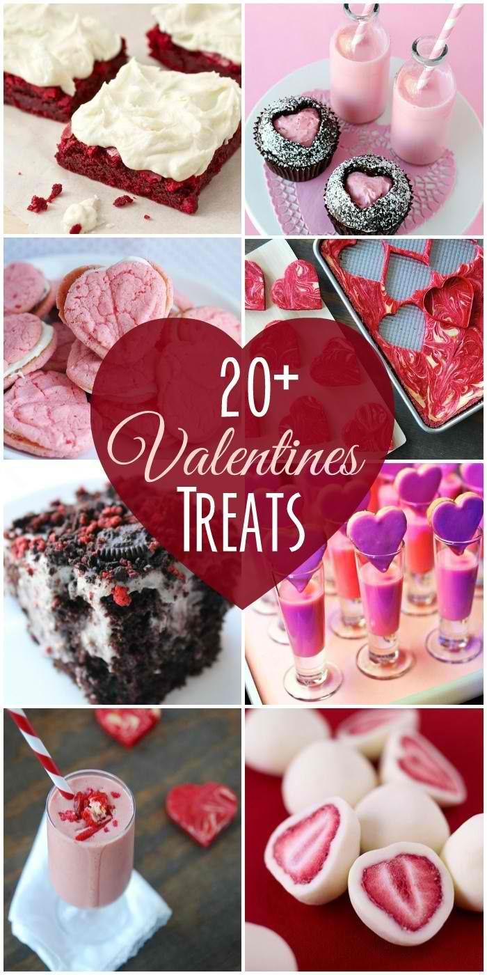 Sweet 20+ DIY Valentine's Day Treats