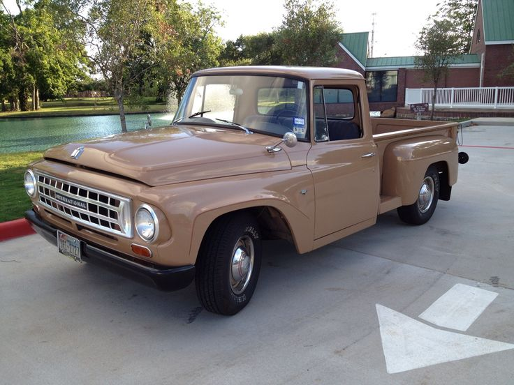 Travelette For Sale >> My restored 1963 International C1000 pickup. Vintage Air added for our Houston summers ...