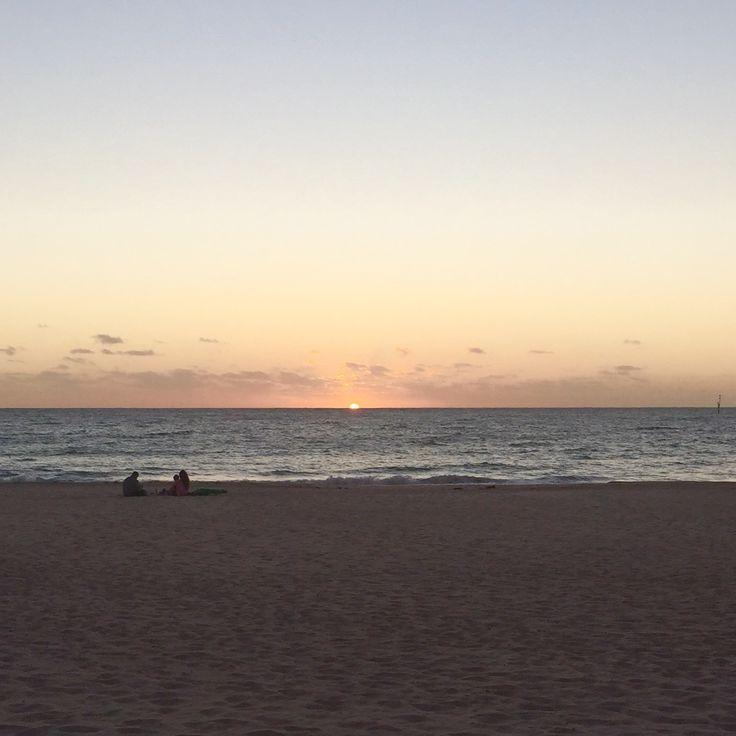 #Sunset at #Glenelg beach, South #Australia
