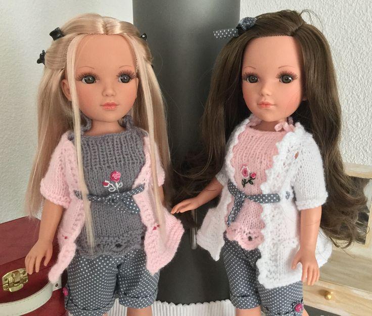 "Tenue ""Las Ramblas"" Doll Family. Tutos ici : http://doll-family.fait-maison.com/"