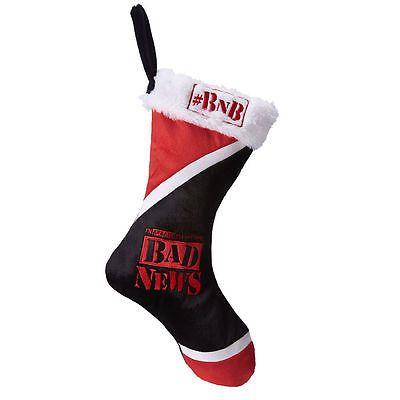 John Cena, Daniel Bryan, or Wade Barrett Holiday Stocking (Christmas) (WWE) NWT