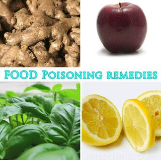 6 Food Remedies For Food Poisoning