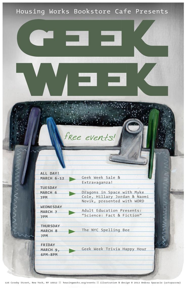 Andrea Sparacio (blogtsparrow) Illustration And Design For Our  Annual Geek