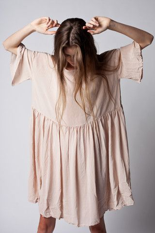 Oversized dress, perfect for lazy days in the sun..