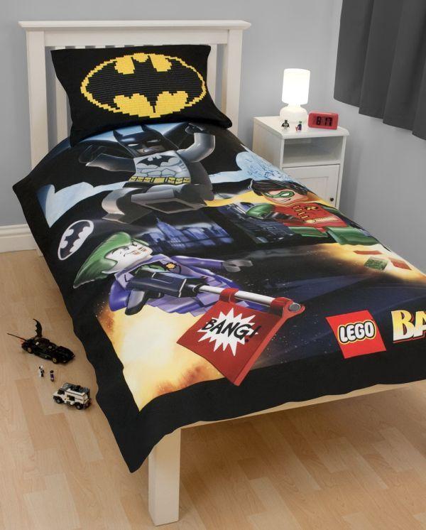 Youth Kids Bedroom Batman Dark Knight Twin Size Platform: Boys Bedding: 28 Superheroes Inspired Sheets