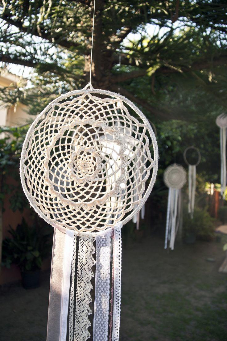 Atrapasueños Crochet / Wedding Dreamcatcher