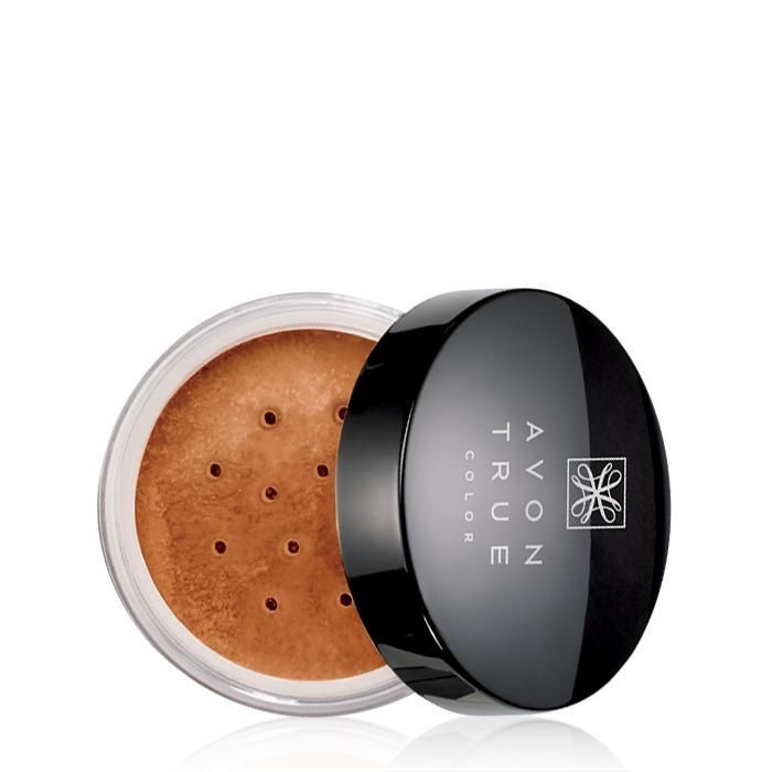 The perfect blend, Avon True Color Smooth Minerals Powder Foundation...Evens skin tone instantly and over time with every smooth application. BENEFITS• Wears all day• Natural medium coverage• Fragrance-, talc- and oil-free• Oil and fragrance-free• Talc free• Pure mineral pigments for luminous color• New innovative package design TO USE• Close lid and turn container upside down• Gently shake container back and forth to load powder• Turn container right side up and open lid• Swirl a brus