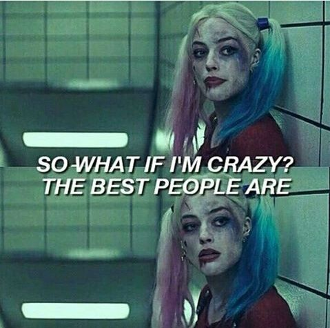 suicide squad, harley quinn, and crazy image                                                                                                                                                                                 More