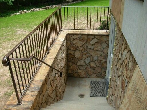 Elegant Basement Walkout Door