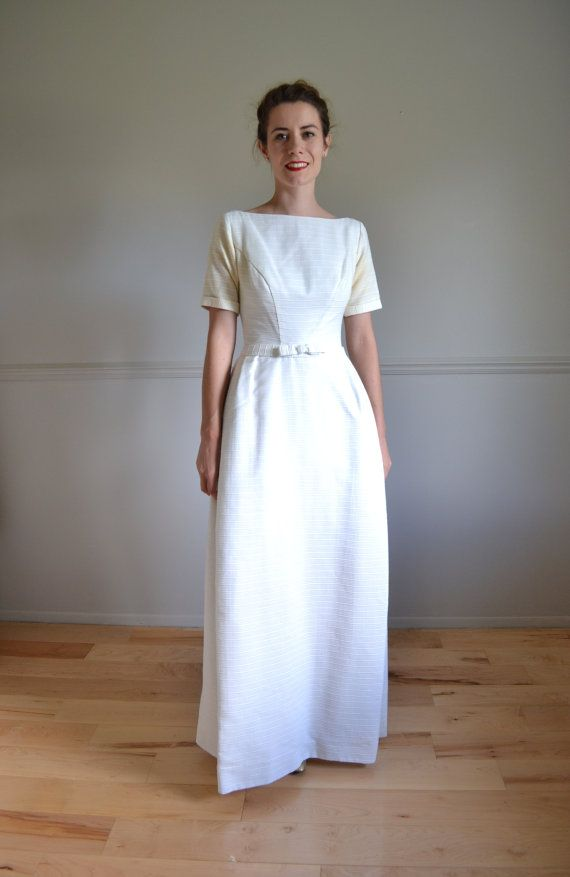 60s Wedding Dress 1960s Cerise In 2018 Dresses Old New