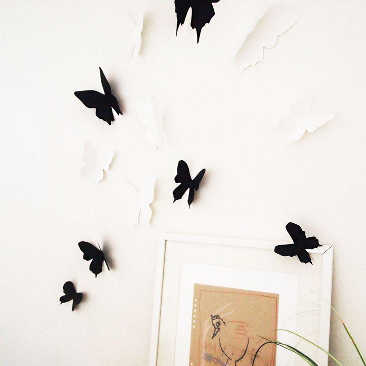 126 besten wanddesign ideen bilder auf pinterest. Black Bedroom Furniture Sets. Home Design Ideas