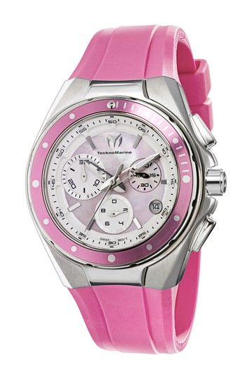 Women's Cruise Steel Chronograph Watch