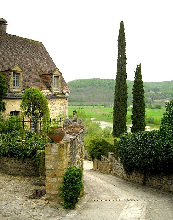 Entryway to the village - Beynac, France