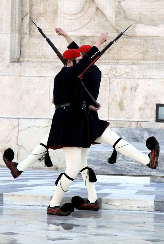 Changing of the Guard - Syntagma square, Athens, Greece ...