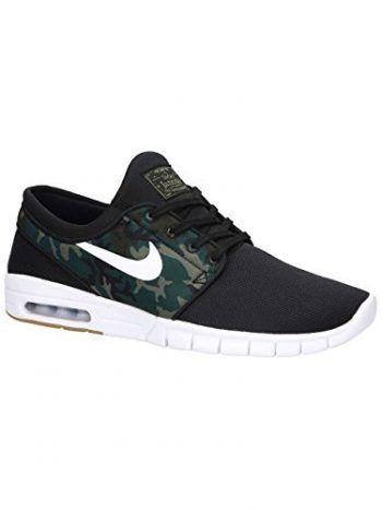 Nike Men's Stefan Janoski Max L Black/White Skate Shoe 8 Men US