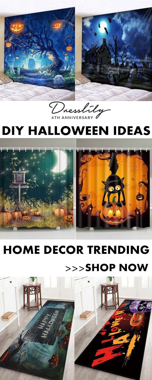 12675e96b42 The ideas of halloween decor diy.  dresslily  halloween  homedecor