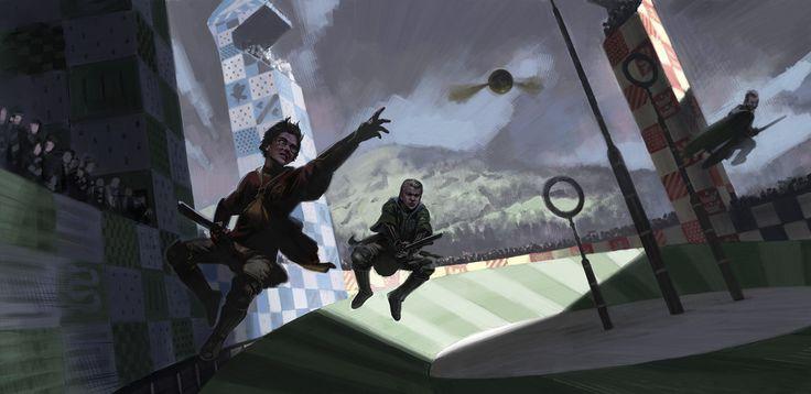 Conheça as ilustrações que inspiraram os filmes de Harry Potter | | Garotas Geeks