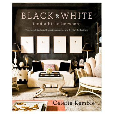 Check out this item at One Kings Lane! Black & White by Celerie Kemble, Signed