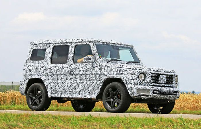 Prestigious New SUV as the Iconic Mercedes-Benz G-Class 2018