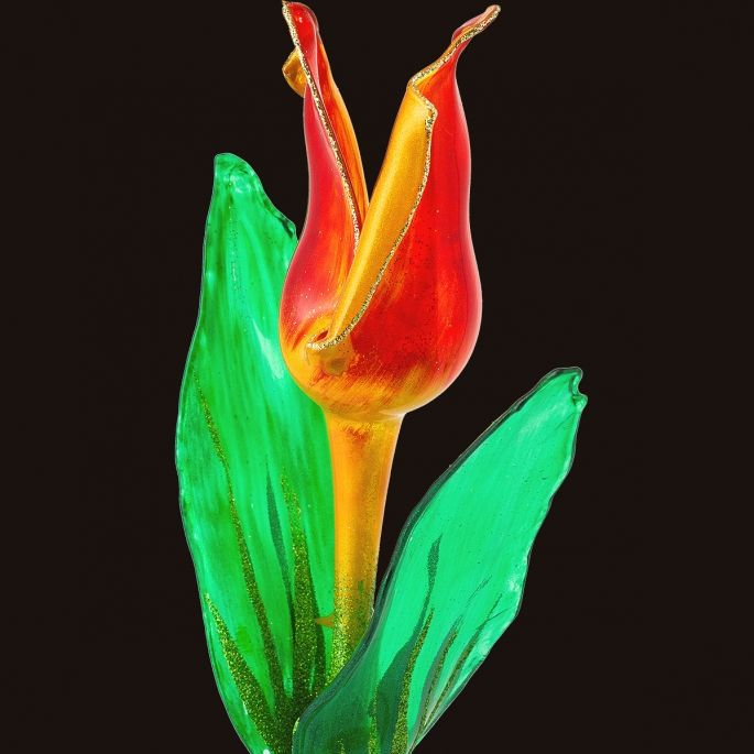Glass Flower - Tulip