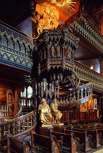 Basilique Notre-Dame de Montréal - Notre-Dame Basilica, Montreal