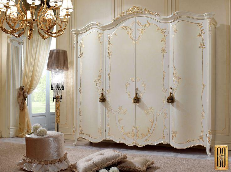 Armadio Collezione Vittoria - Gotha Luxury Bedroom Forniture #GothaLuxury #luxury #bedroom #classic