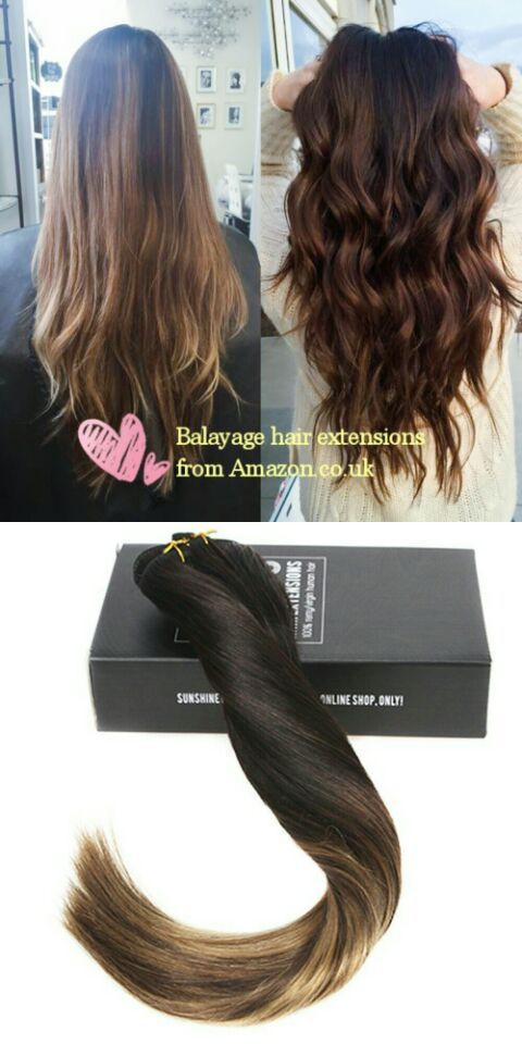 Free Delivery And In Good Quality Sunny Balayage Hair Clips Extensions Natural Black To Dark Brown With Caramel Blonde 120g 7pcs Remy Real Hair Ombre Clip