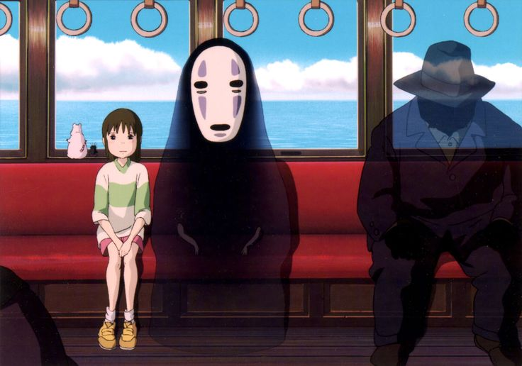 Spirited Away - Yes, Chihiro's a kid. She's used to a world in which her rights and privileges are determined by her parents, who are obligated to keep her healthy and happy. She enjoys this status by virtue of being born. But in the wider world—and this is what makes it so scary—one creates one's own identity. For the middle-class, anyway, one has to earn one's pride of place. At the bathhouse it's the same. Who you were, when you were a kid, doesn't count for zip.