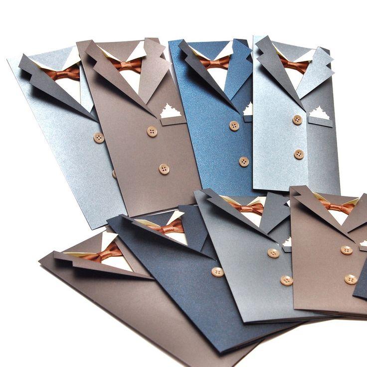 Мой уютный уголок: Открытки мужские к 23 февраля - открытка-пиджак