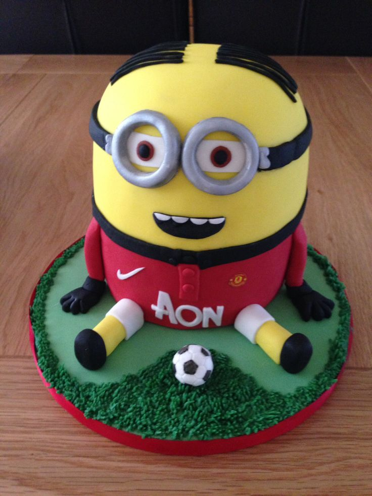 Amigurumi Fan Club Minion : 1000+ ideas about Manchester United Cake on Pinterest ...